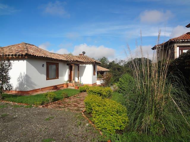 Habitación en casa campestre en Villa de Leyva