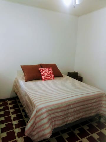 Bedroom Two. Room has a very cool climate