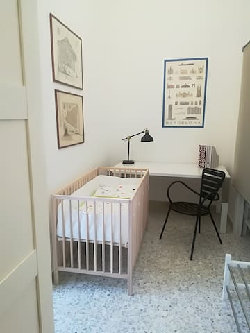 La culletta per il vostro bimbo, potrete spostarla nella stanza che preferite :-)