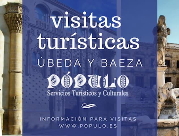 VISITAS CULTURALES A BAEZA CON POPULO.