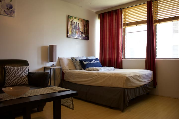 Cozy Waikiki Studio + Free Parking + WIFI - Honolulu - Wohnung
