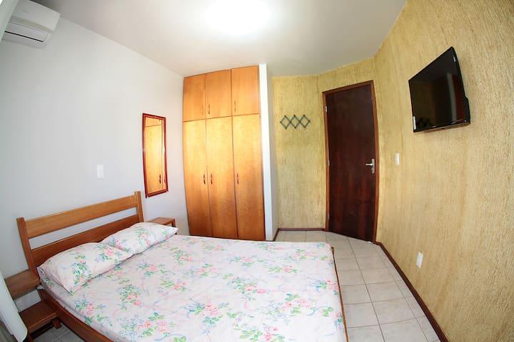 Quarto 01 - cama casal
