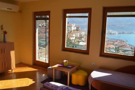 Villa Ohrid- Violet lake view apartment - Ohrid - Appartement