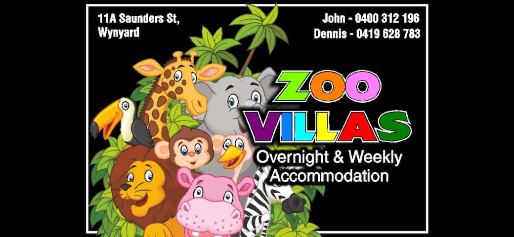 Zoo Villas - Central Wynyard: Villa Giraffe