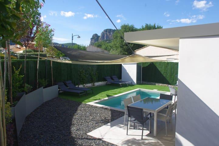 La Esperanza Villa contemporaine piscine