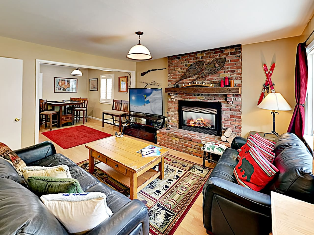 Welcome to Truckee! This mountain getaway is professionally managed by TurnKey Vacation Rentals.