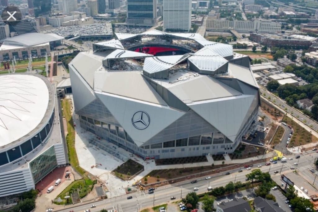 0.5miles from Mercedes Benz Stadium