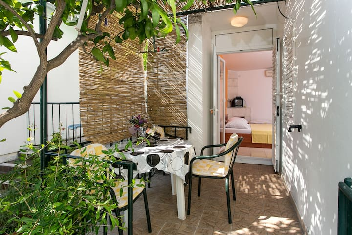 Apartment Djurkovic- Studio w/Balcony& Garden View