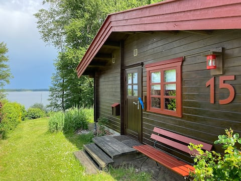 Gemütliches Holzhaus mit traumhaftem Schlei-Blick