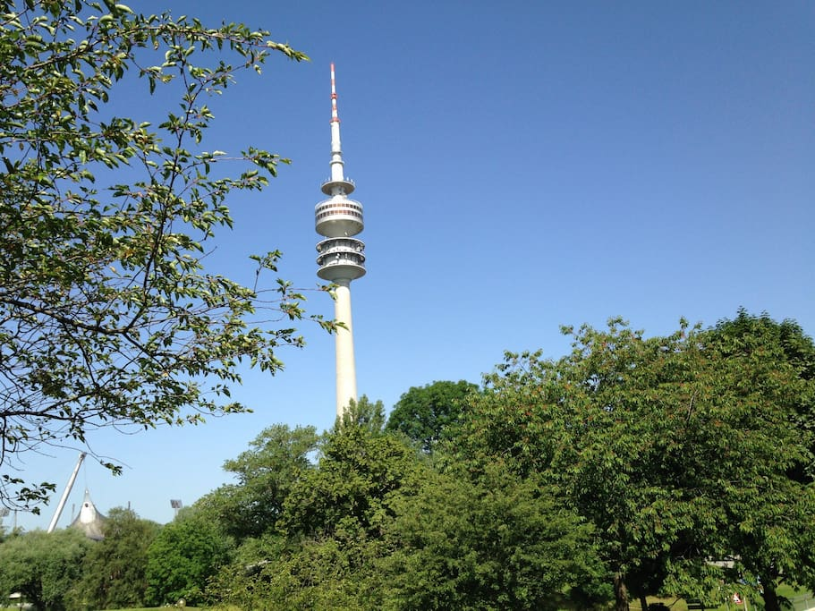 Olympiapark - a few minutes to go