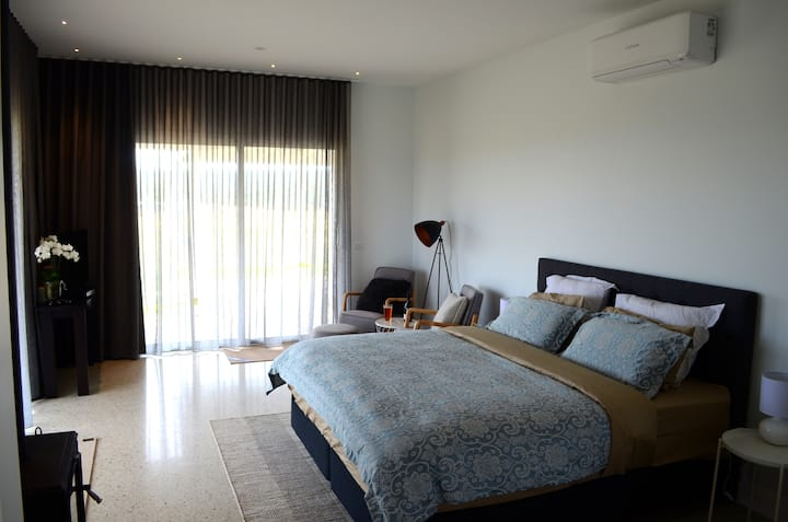 King room & ensuite @RooksEdge (Rm1)