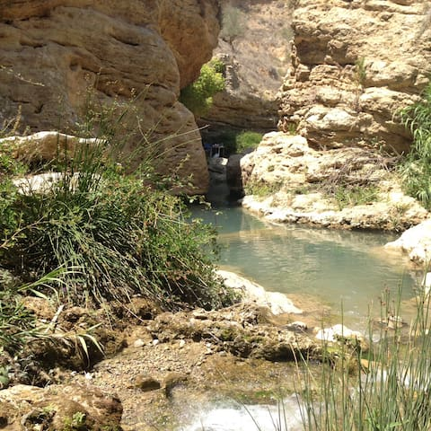 El Salto Usero (Jump) a popular place in Bullas during the summer.  Was voted one of the best in the Murcia Region. with visitors from all over.  You have to book your place online to visit -  June to September or, arrive early on the day and wait.