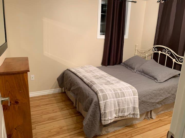 Private basement in prime location! 1 bdrm, 1 bath