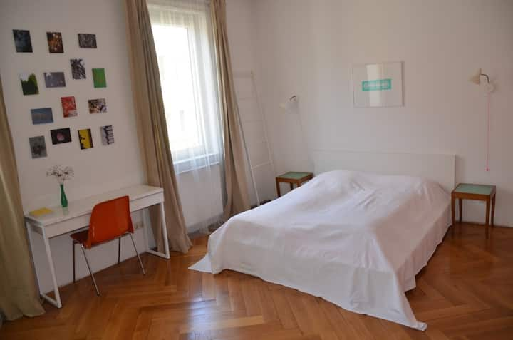 Charmantes ruhiges Altbau-Zimmer in S-Mitte