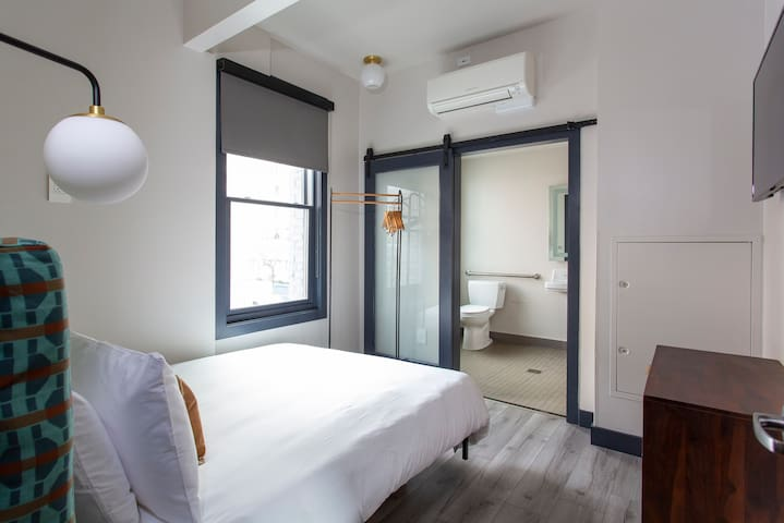 Sonder | The Townsman | Airy Room + Front Desk