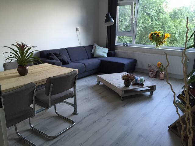 Renovated quiet apartment at the Zuid-As/Schiphol
