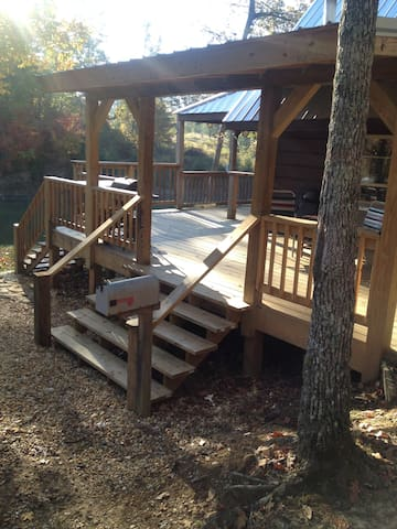 Gorgeous Log Cabin Retreat! Romantic! Peaceful! - Rome  - Cabana