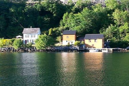 Unik sommeridyll ved Hardangerfjorden