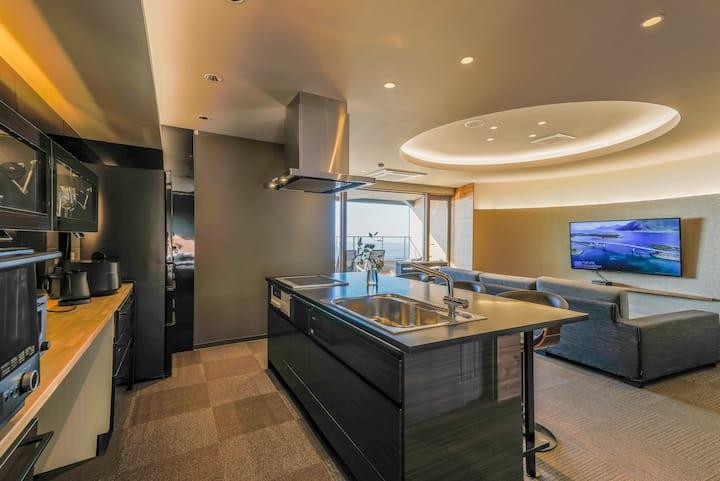 ITADAKI DAISEN, a luxury penthouse-style apartment