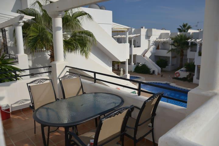 Comfortabel appartement San Juan de los Terreros