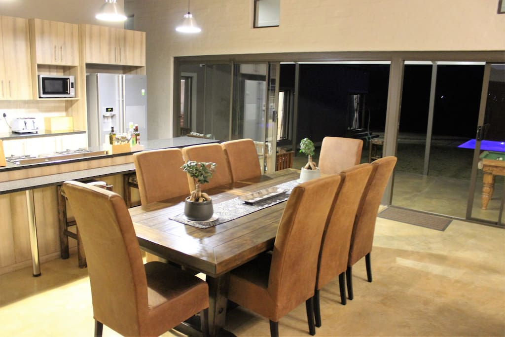 Main House - open plan living area