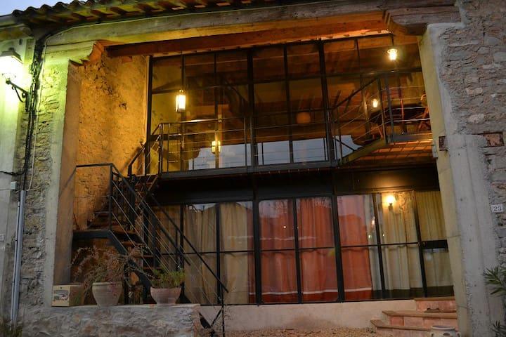 Loft lumineux plein sud desing moderne - Talairan - Loft