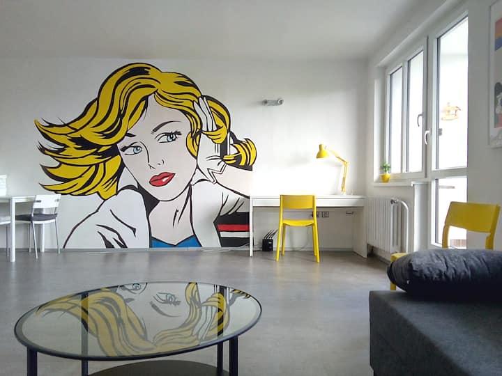 Modern Apartament in the Spa center