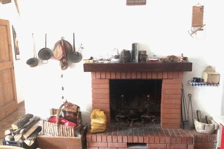 Grandpa's house in Rocca Pia
