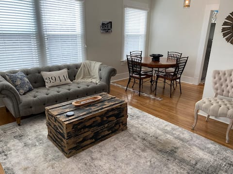 Within walking distance to downtown Laurel, MS