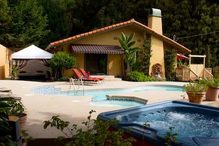 Romantic Villa Soquel Santa Cruz CA - Villa