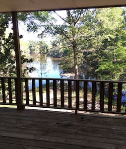 1900 Sq ft Lakeside Cabin on 20 Acres Toledo Bend - Many - Talo