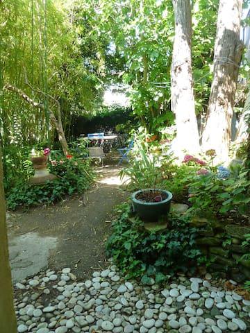 300M Plage :Grande maison de charme7p jardin+cour - Saint-Clément-des-Baleines - Casa