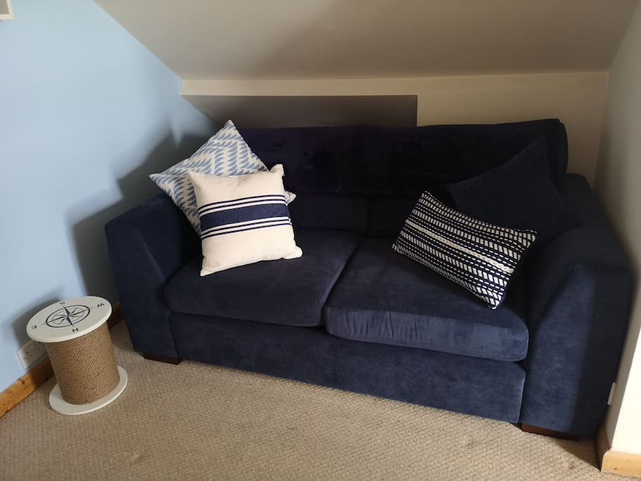 Seating area and sofa bed