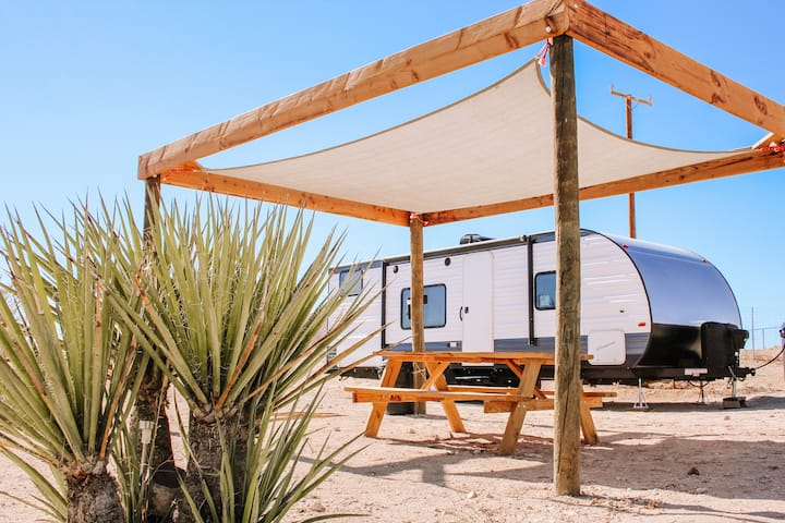 BunkHouse | Eco-Friendly Camping in Joshua Tree