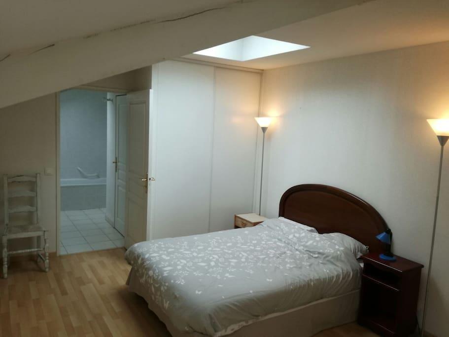 etage priv avec chambre salle de bain et toilette appartements en r sidence louer bayonne. Black Bedroom Furniture Sets. Home Design Ideas