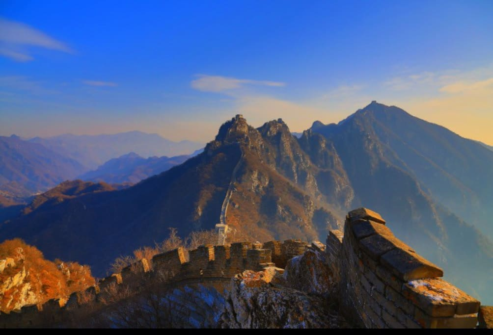 Spectacular look from the 'Arrow nock' Great Wall.