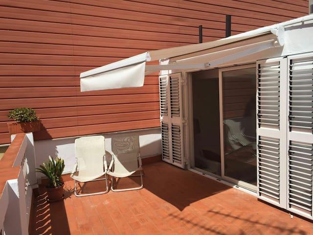 Cosy & Bright Apt Gracia Terrace! - ATU41