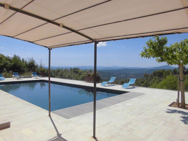 Maison 7 chambres vues panoramiques - Tourtour - Talo