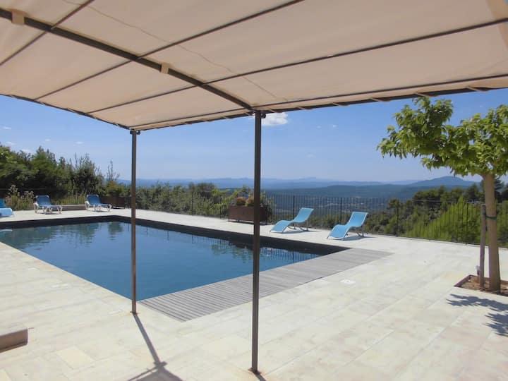Maison climatisée 7 chambres vues panoramiques