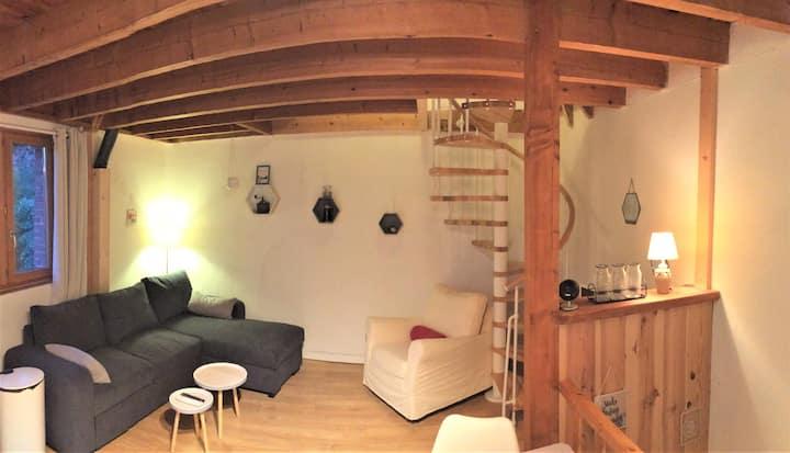 Petite maison en bord d'Allier