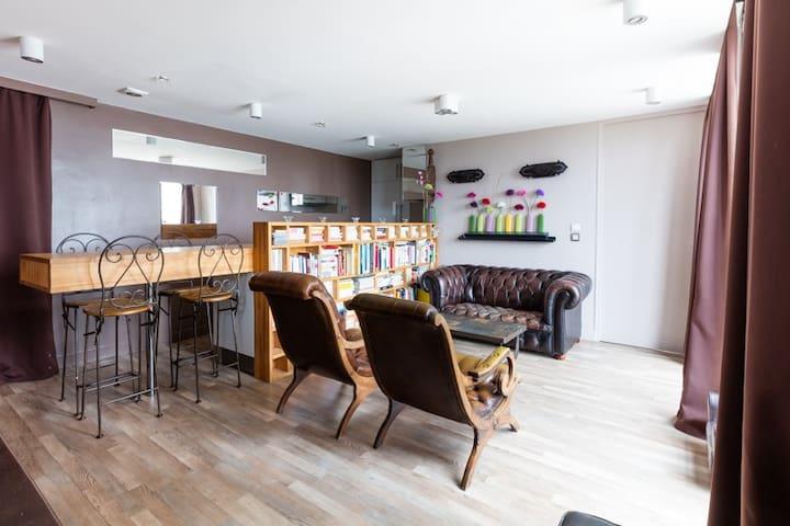 Bel appartement cosy à 15min de Paris - Choisy-le-Roi