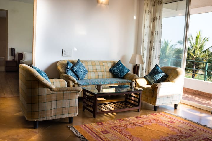Pansy - D5 - 2 bedroom apartment at Varca Goa - Varca - Lejlighed