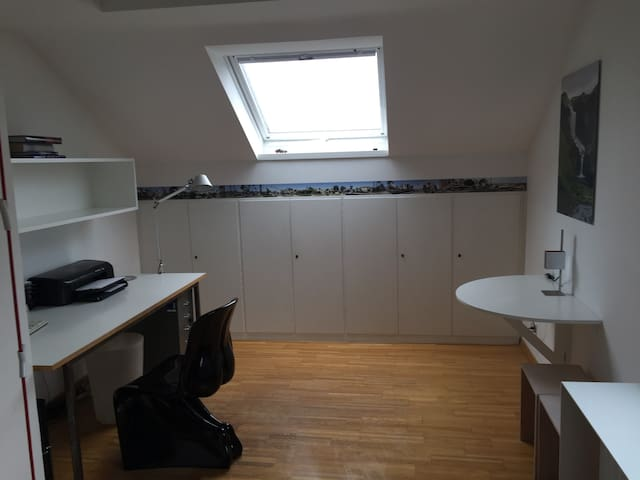 Dachgeschoss Studio nahe City und Messe - Stuttgart - Apartment
