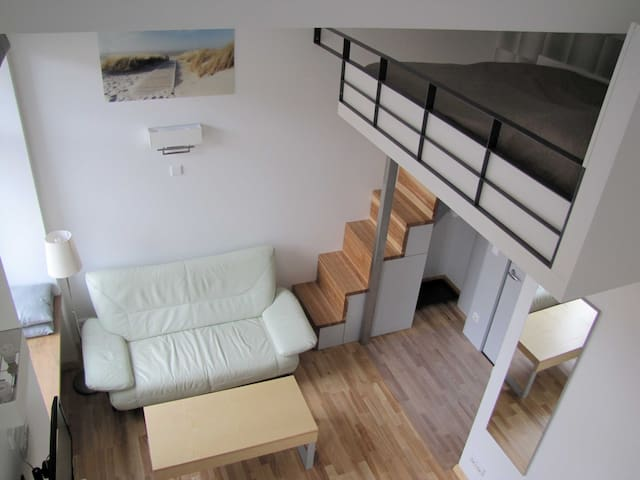 Contemporary Loft Studio in Vilnius City Center - Vilna - Apartamento