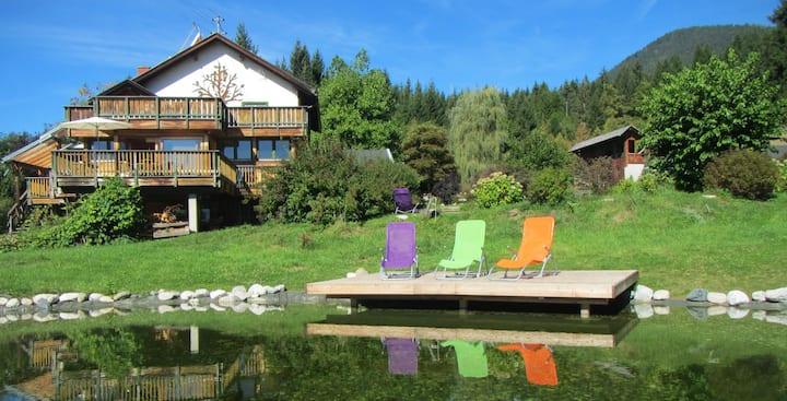 Windvogel Alleinlage 2 Häuser exklusiv / Sauna