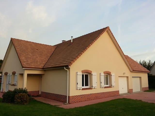 Extension privée :   2 Chambres sdb wc 10min Rouen