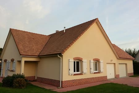 Chambre neuve avec sdb indépendante - Hénouville - Rumah