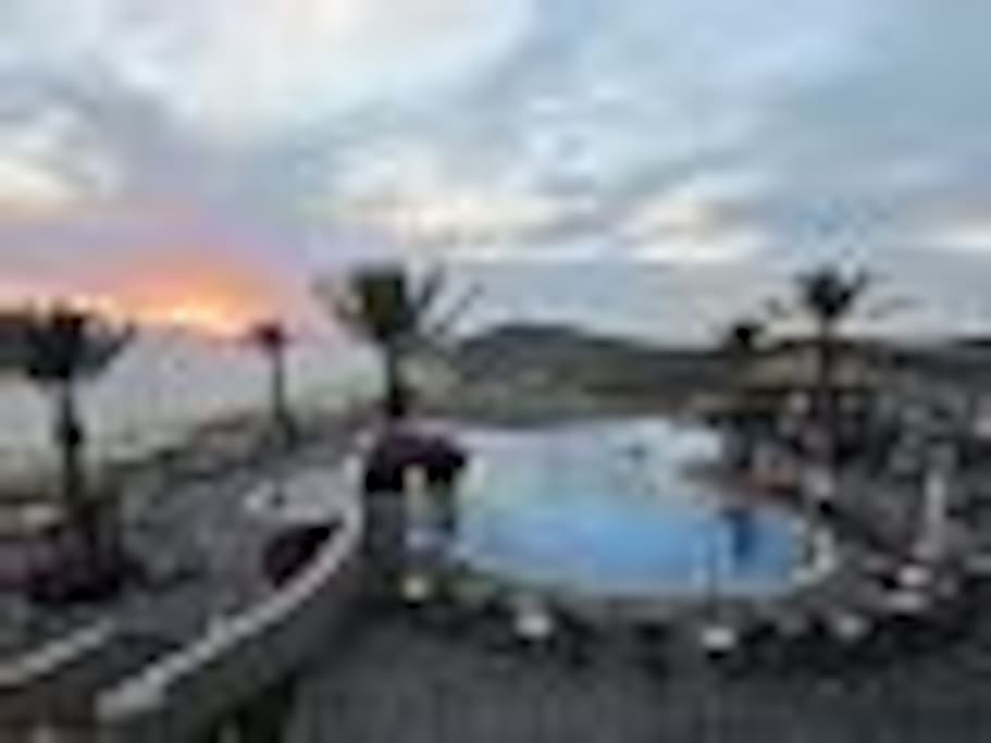 Amazing views and sunsets from the Sky Pool