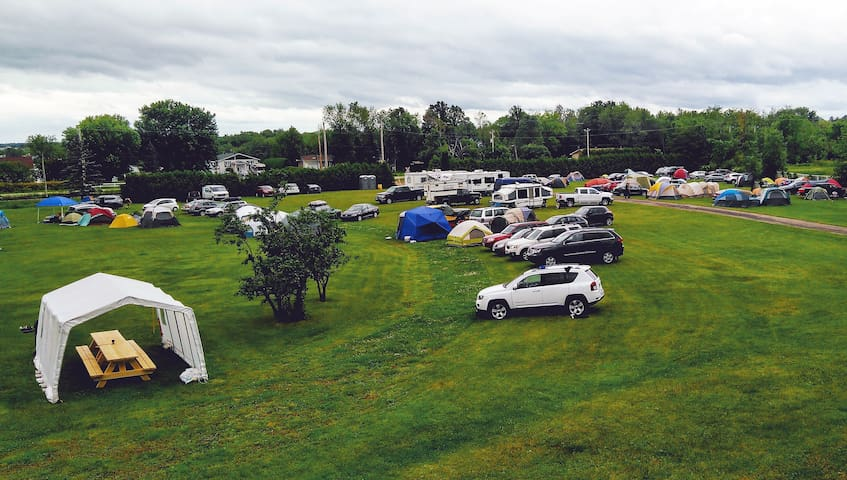Camping for Rockfest #12
