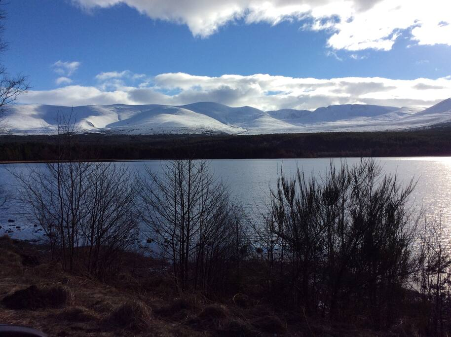 Local Cairngorm mountains
